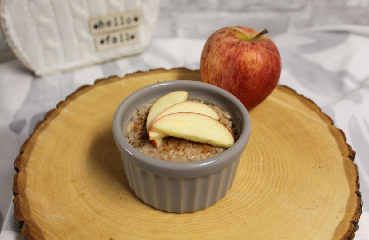 Vegan Apple Cinnamon Rice Pudding