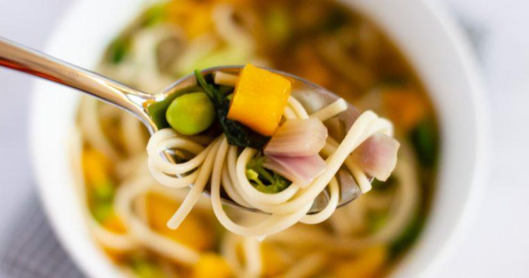 Lucky Bones Noodle Bowl