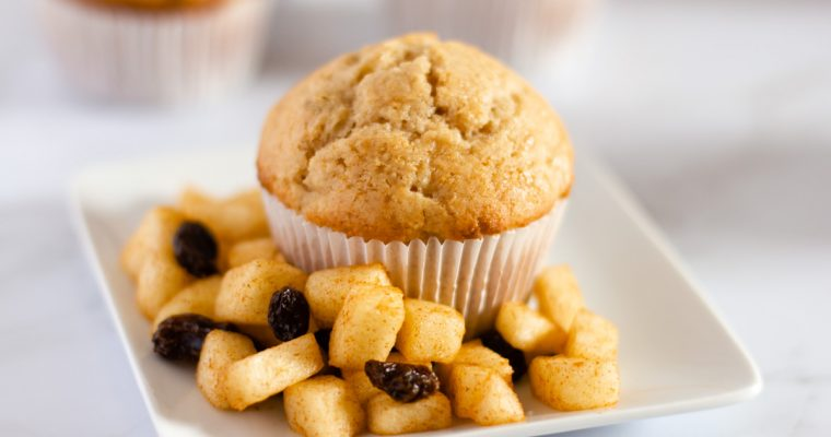 Apple Cinnamon Raisin Muffins