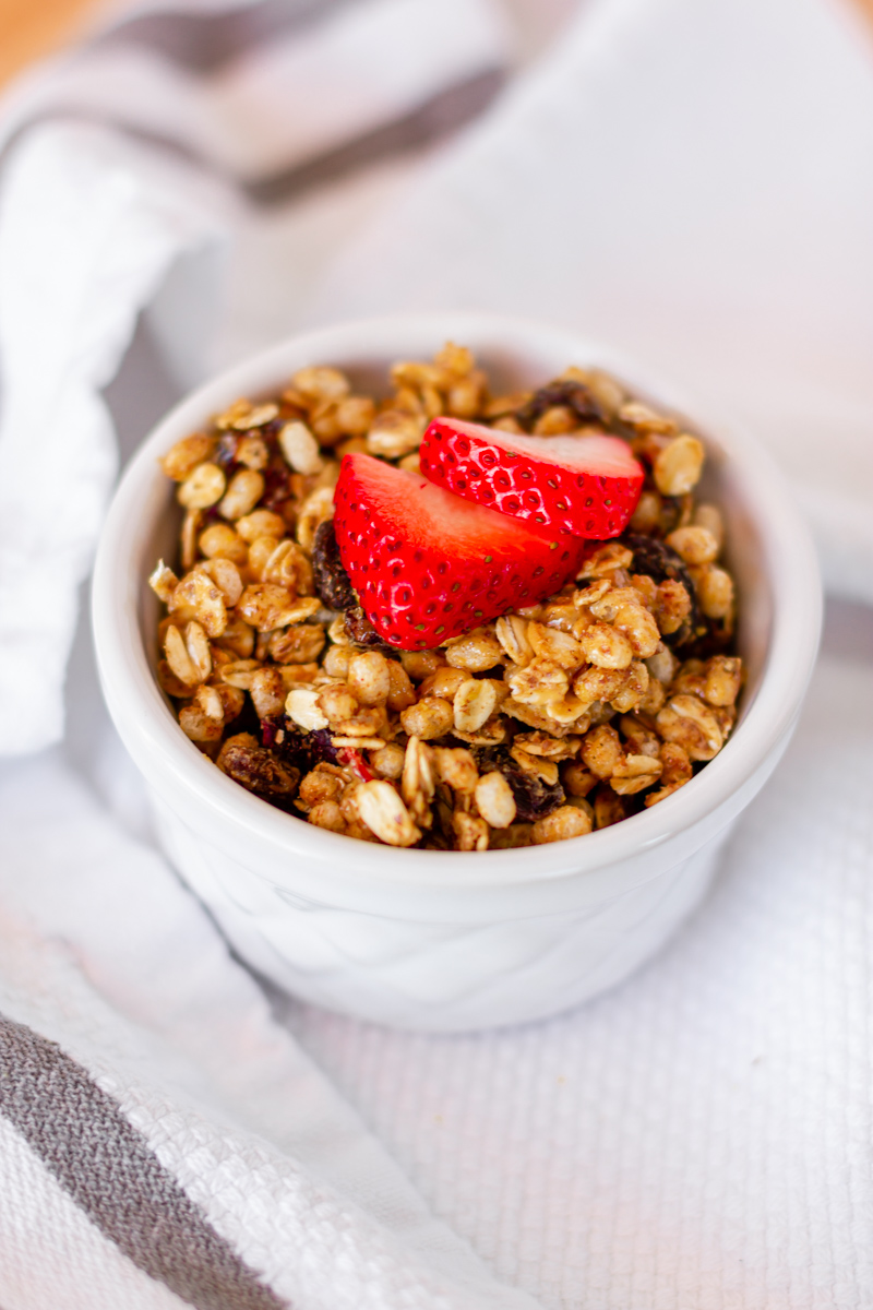 3-Minute Homemade Granola